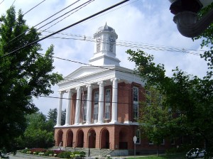 Susquehanna County Courthouse in Montrose, Pa.