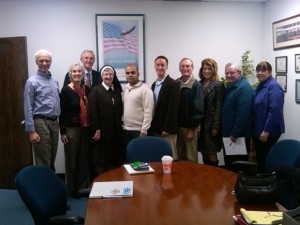 Photo of N.J. Fracking Advocacy Event