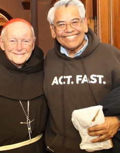 Cardinal McCarrick and Honoree Eliseo Medina