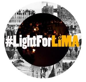 light for lima globe logo