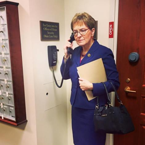 Marcy Kaptur learning about TPP