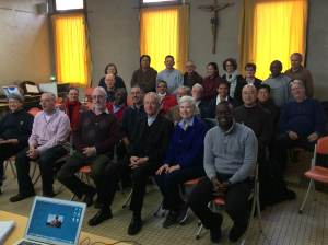 Group with Cardinal Humes