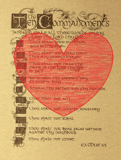 commandments.heart